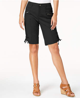 Style&Co. Style & Co Zipper Bermuda Cargo Shorts