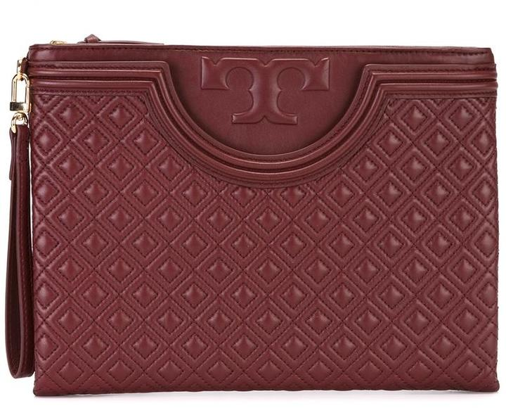 Tory Burch Tory Burch embossed clutch