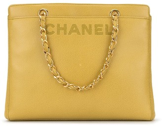 Chanel Pre-Owned CC chain hand bag