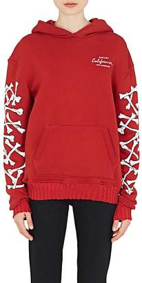 "Amiri Women's ""California"" Bone-Graphic Cotton Hoodie"