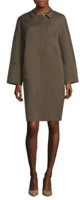 Lafayette 148 New York Mario Collared Shirtdress