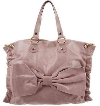 RED Valentino Leather Bow Bag