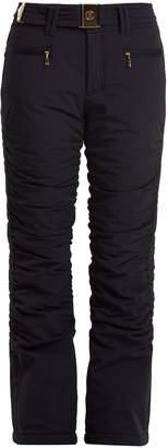 Bogner Luna belted kick-flare technical ski trousers