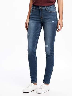 Old Navy Mid-Rise Rockstar Destructed Skinny Jeans for Women