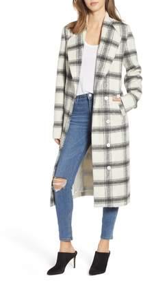 Show Me Your Mumu Hollis Plaid Coat