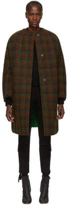 Isabel Marant Reversible Brown Harrison Wool Coat