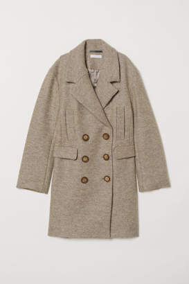 H&M Wool-blend Coat - Gray