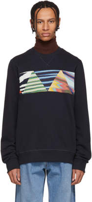 Missoni SSENSE Exclusive Navy Cotton Sweatshirt