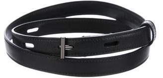 Reed Krakoff Narrow Leather Waist Belt
