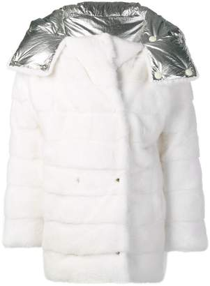 Yves Salomon oversized fur parka