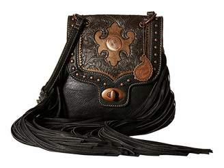 American West Winslow Fringe Flap Crossbody