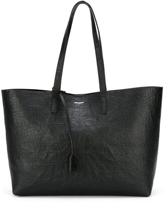 Saint Laurent large unstructured shopper tote