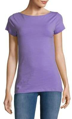 Lord & Taylor Cotton-Blend Tee