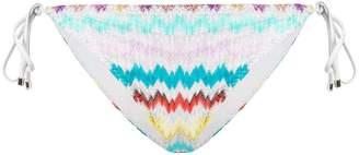 Missoni Mare striped side tie bikini bottoms