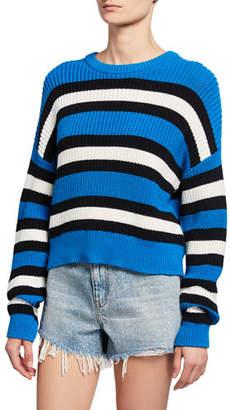 A.L.C. Matthews Striped Pullover Sweater