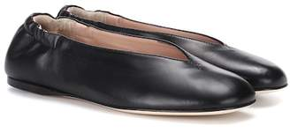 Acne Studios Oddry leather ballerinas