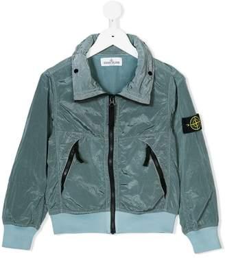 Stone Island Junior lightweight zip front jacket