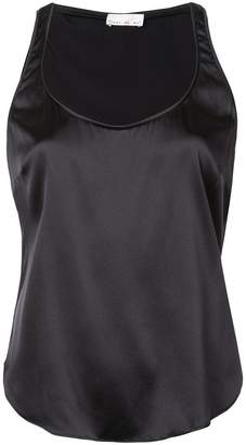 Fleur Du Mal scoop neck cami top