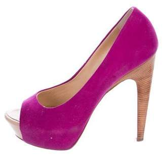 Giuseppe Zanotti Embossed Suede Pumps cheap sale eastbay sale wide range of ZTcifS6ber