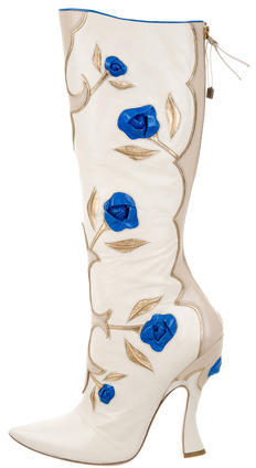 Miu MiuMiu Miu Leather Knee-High Boots