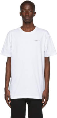 Off-White Off White White Logo Slim T-Shirt