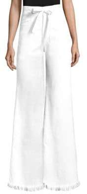 Frame Belted Palazzo Pants
