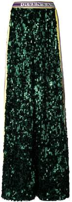 Dolce & Gabbana Fashion Devotion sequinned trousers