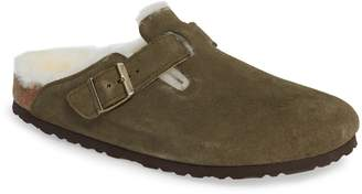 Birkenstock 'Boston' Genuine Shearling Lined Clog