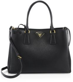 Prada Saffiano Leather Tote $1,970 thestylecure.com