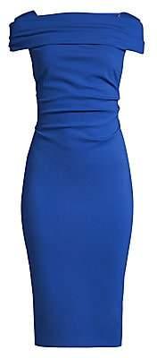 Escada Women's Dosa Ruched Cap-Sleeve Jersey Dress