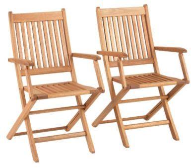 Set of Two Brisbane Folding Armchairs