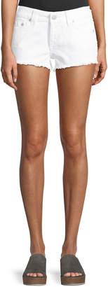 True Religion Keira Fray Denim Shorts