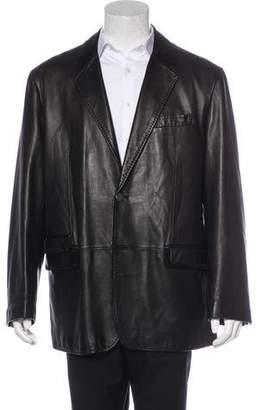 Robert Graham Leather Sport Coat
