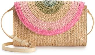 Lauren Conrad Rainbow Flap Crossbody Bag