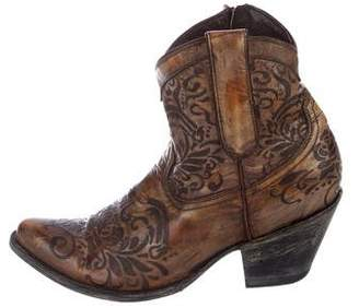 Old Gringo Leather Ankle Boots