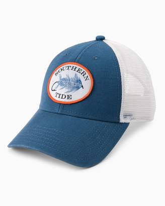 Fly London Southern Tide Skipjack Patch Washed Trucker Hat