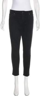 Genetic Los Angeles Mid-Rise Polka Dot Print Jeans