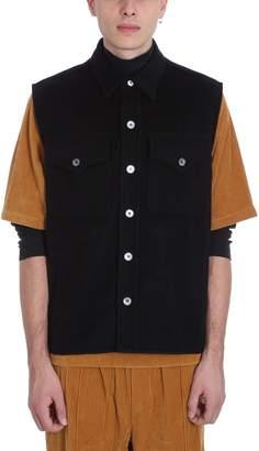 Our Legacy Sleveless Xplore Black Wool Jacket