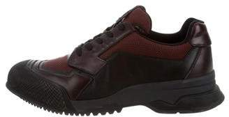 Prada Sport Leather & Mesh Low-Top Sneakers