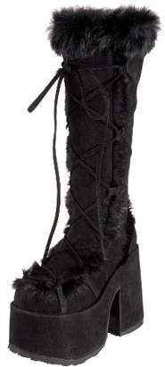 Pleaser USA Demonia By Women's Camel-311 Boot