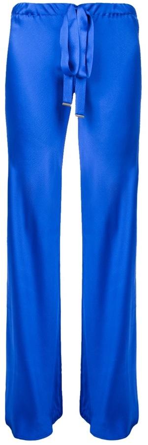 Roberto Cavalli wide leg silk trouser
