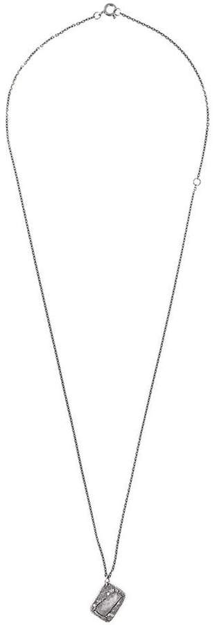 Chin Teo diamond pendant necklace