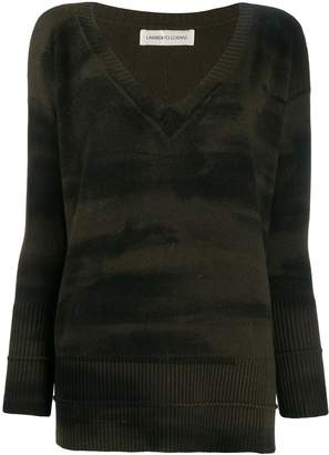 Lamberto Losani tie-dye jumper
