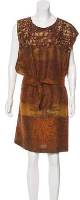 Pauw Silk Shift Dress