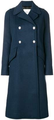 Sonia Rykiel double-breasted long coat