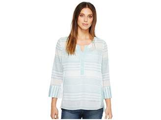 NYDJ Stripe Tunic Women's Blouse