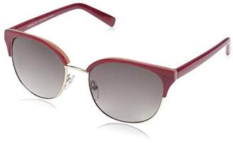 Society New York Women's Modern Clubmaster Sunglasses