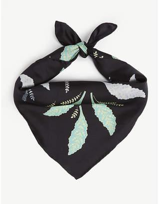 Diane von Furstenberg Mason print silk scarf