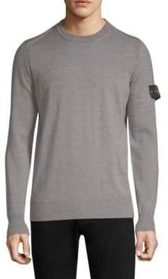 Stone Island Wool Crewneck Sweater