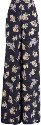 Zimmermann Sabotage Wide-Leg Floral Trousers